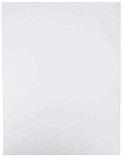Crafter's Companion Watercolour Cardstock-50 Sheet pkg Watercolor Cardstock, White