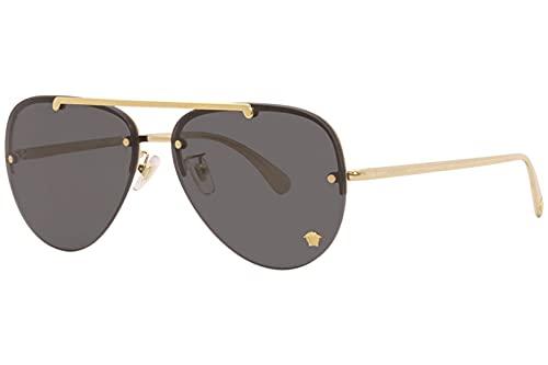 Versace Gafas de Sol GLAM MEDUSA VE 2231 Gold/Dark Grey 60/14/140 mujer