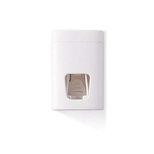 Juicer muur tandpasta plakken dispenser accessoires tanden rack-mount bad tandpasta,een afmeting,wit