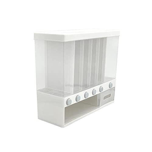 hongbanlemp Storage Cucina Parete Food Storage Box Contenitore di plastica dell' organizzatore Cucina Bagagli Bottiglie Vasi secchi Grani Serbatoio Box