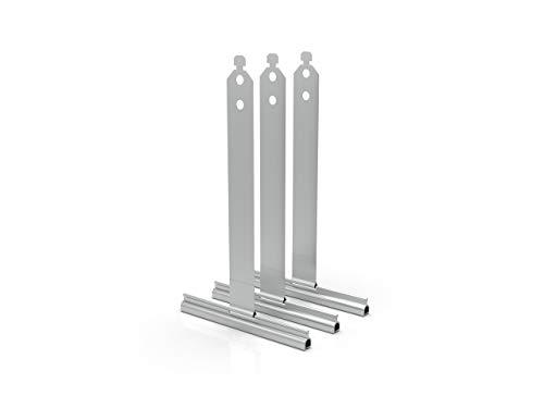 Rolladen Aufhängefeder | Stahlfeder Rolladenaufhängung für Maxi Rolllädenprofile | 3 Stück
