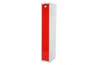 Kleiderspind rot Umkleideschrank Personalschrank Spind Metall Büro Schrank