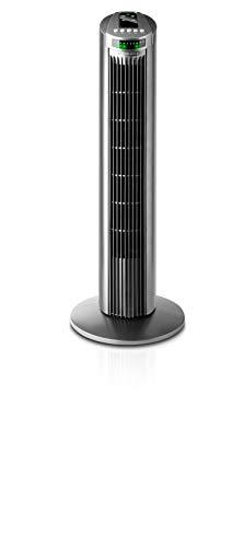 Taurus Babel RC - Ventilador de torre con control remoto, 3 velocidades, 45W, color gris