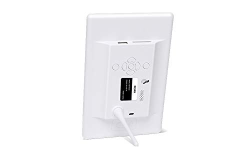KEIAN7インチ液晶画面デジタルフォトフレームKD71RD-Wホワイト