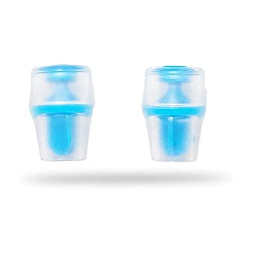 Hydrapak Unisex-Adult bite Valve Sheath 2-Pack Flaschen zubehör, Transparant/Blue, 2