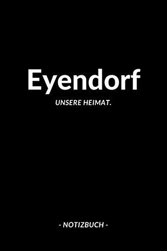 Eyendorf: Notizbuch A5 120 Seiten Dotted | Punktraster Notizblock/Journal/Notebook für deine Stadt.