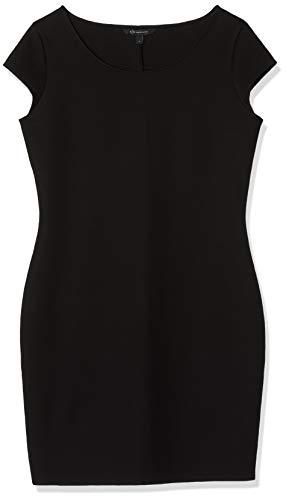 Armani Exchange Damen Free TIME & Office Kleid, Schwarz (Black 1200), Large (Herstellergröße:L)