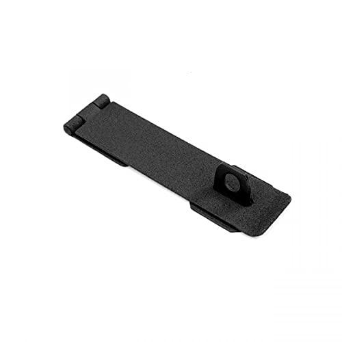 Hasp Black Cast Iron Door Gate Hasp 6 1/4