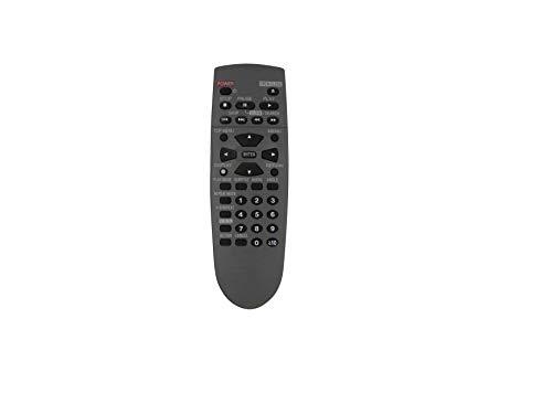 HCDZ Replacement Remote Control for Panasonic DVD-CP72S N2QAJB000052 DVD-S48 DVD-S68 N2QAYA000015 DVD Video CD Player
