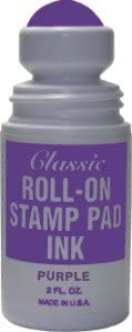 Max 49% OFF Roll-on Stamp Pad Ink Max 41% OFF Violet