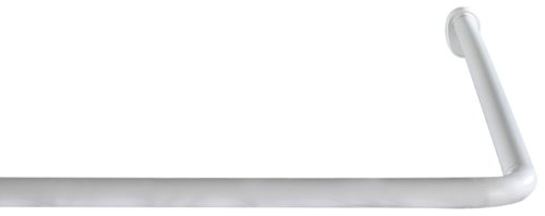 Wenko Barra Angular 20 mm Universal Blanco