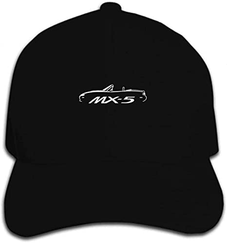 Sombrero de sol para hombre y mujer con impresión para hombre y mujer Mazda Mx5 inspirado en el gráfico del coche