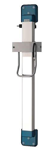 Franke aluminium hoogteverstelling ARTH101 met kristallen spiegel voor haardrogers