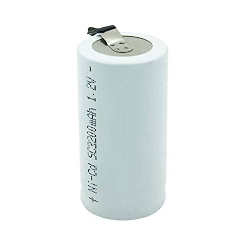 3-20pcs Subc SC 1.2V 3200mAh Célula de batería Recargable con grifos de Soldadura para batería de taladros 3PCS