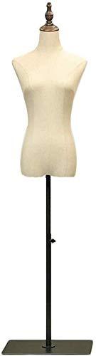 Hyl Maniquíes de Costura Mujer sastres maniquí modistas maniquíes Estudiantes de Moda de Pantalla Ajustable en Altura Conveniente for la Ropa demostración de la joyería