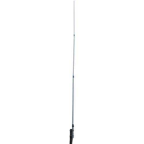 tram-browning 1498 18ft CB Base Station Antenna, 26MHz–31MHz, Silver