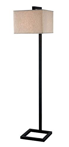 Kenroy Home 21080ORB 4 Square Lamps, 14 Inch Height, 16 Inch Width, Oil Rubbed Bronze Finish