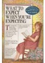 """2 Book Lot!! ~ """" What to Expect When You're Expecting"""" ~ """" What to Expect the First Year"""" (Parenting)"""