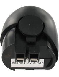 Akku für METABO POWERGRIP 2, 4.8V, 2100mAh, NI-MH