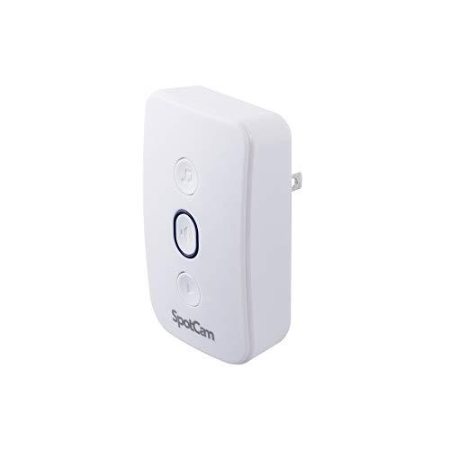SpotCamチャイムスピーカー、プラグイン、リアルタイム通知、簡単なインストール、さまざまな着信音、調整可能な音量 ,SpotCam Chime Speaker