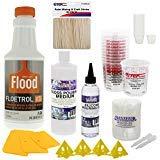 U.S. Art Supply - Pouring Supply Paint Medium Deluxe Kit