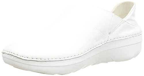 Fitflop Super Loafer-Leather, Sneaker Mujer, Urban White, 41 EU
