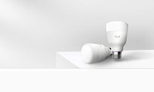 Yeelight Ampoule LED connectée E27 multicolore - 11 W - 800 lm