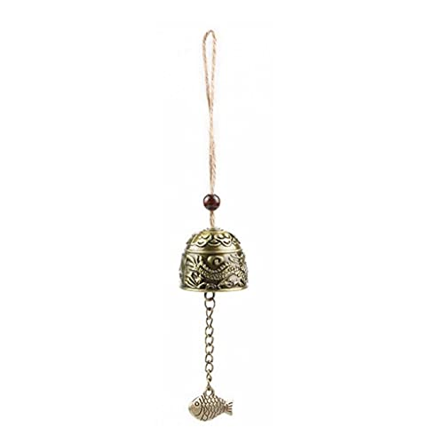 VusiElag 1 unids Regalos artesanías para la colección de Arte Afortunado Viento Chime fengshui bendición Feng Shui Viento Chime Buddha Estatua Estatua Escritorio decoración Buddhism té