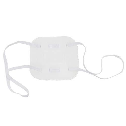 C-ZOFEK Rikka Takanashi Misaki Mei Soft Eyepatch Cosplay Costume Accessories (White)