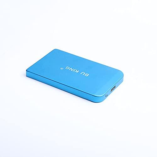 BU KING HDD Mirco USB 3.0 Disco rigido esterno Disco rigido mobile Disco rigido esterno da 250 GB Disco rigido Ps4 Disco rigido portatile-Blu