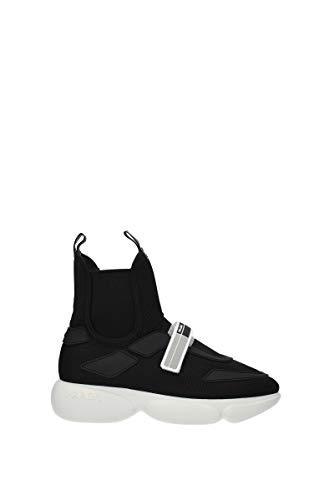 Prada Damenschuhe Damen Schuhe High Sneakers Schwarz EU 38 1T142L_3KM9_F0967_F_040