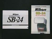 Das Nikon SB-24 Blitz System