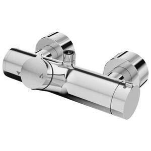 Schell - Volver-grifo de la ducha vitus vd-on/t/o la batería del termostato, la desinfección de cromo