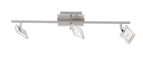Paul Neuhaus Deckenleuchte 3x LED-Board / 4 W / 3000 K Innenleuchte, chrom/nickel IP20 6963-17