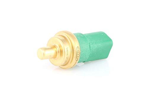 HELLA 6PT 009 107,141 Sensor, temperatura del refrigerante , 12V , enchufado , con junta , con circlip