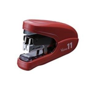 (業務用3セット)マックス ホッチキスバイモ11 HD-11FLK/R 赤 HD90302 ds-1465389