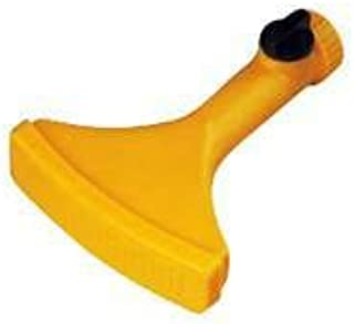 TOOLBASIX GN37070 Fan Spray Nozzle With Shut Off Off, Yellow