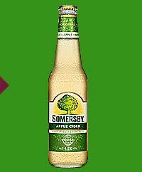 12 Flaschen Somersby Apple Cider a 330ml Glas 4,5% Vol. Apfel