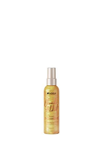 Indola Innova Blond Addict #2 Care Gold Shimmer Spray Pulvérisateur Cheveux blonds 150ml