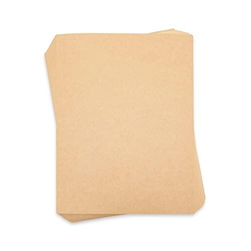 Kraft Paper Cardstock for Invitations, Menus, Crafts (8.5x11 In, 96 Sheets)