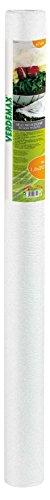 Verdemax 6749 Rouleau de Filet de Protection en Tissu Non tissé Blanc 1,6 x 20 m