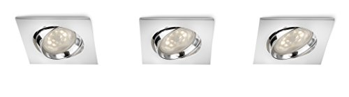 Philips Smart Spots Galileo 590801116 LED-inbouwspot, 3 lampen, chroom
