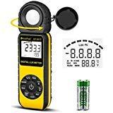 Light Meter-HOLDPEAK 881E Digital Illuminanc/Light Meter with 0.01~300,000 Lux...