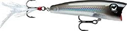 Rapala X-Rap Pop 07 Fishing lure, 2.75-Inch, Pearl Grey Shiner