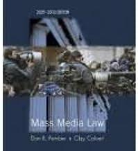Mass Media Law 2009/2010 Edition 16th (sixteenth) edition