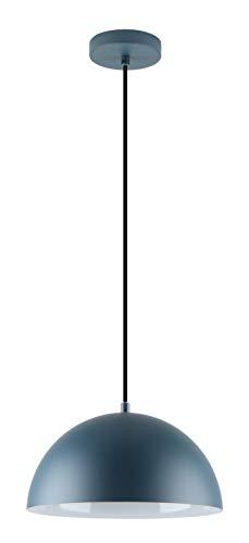 """LED Universum Pendelleuchte """"Jada"""" in Petrol, 30cm x 125,5cm, E27-Fassung, ohne Leuchtmittel, zur Beleuchtung von Küche, Wohnzimmer, Esszimmer"""