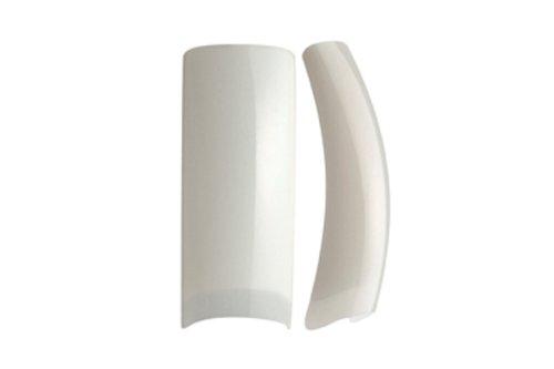 Bahia Nails - Recharge capsule N°2 encoche courtes naturelles Reasort Tips en sachet de 50 PCS