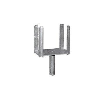 Schake Kopf für Schalungsstützen mit 4 Eckwinkeln - Höhe ca. 200 mm - Typ Standard, Rohr-Durchmesser 26,9 mm