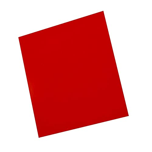 FOYLEAD Silicone Rubber Sheet,Heat Resistant, Heavy Duty,Commercial Grade 60A,12 x12 Inch, 1/8 Inch Thickness for DIY Gaskets, Pads, Seals, Crafts, Flooring,Cushioning of Anti-Vibration, Anti-Slip