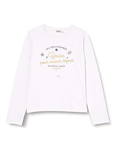 KAPORAL Makia T-Shirt, White, 08A Bambina